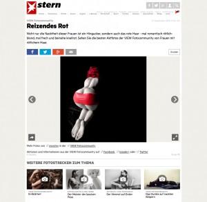 Red Rubber Ribbon by Jürgen Novotny on Stern.de